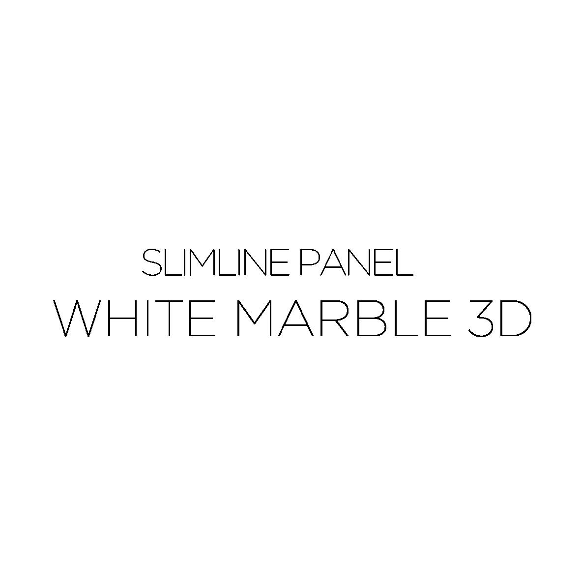 WHITE MARBLE 3D-10
